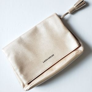 NWOT Laura Mercier large cosmetic bag